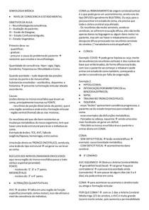 RESUMO -NIVEL DE CONSCIENCIA E ESTADO MENTAL
