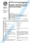 NBR 09776 - 1987 - Agregados - Determinação da Massa Específica por meio do Frasco Chapman