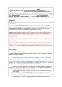 4 - DA DEFESA DO ESTADO E DAS INSTITUIÇÕES DEMOCRÁTICAS ESTADO DE DEFESA, ESTADO DE SÍTIO.