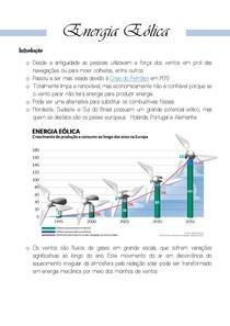 ENEM   Energia Eólica