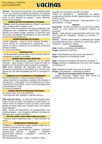 17 - VACINAS E TIPOS DE REJEIÇÃO