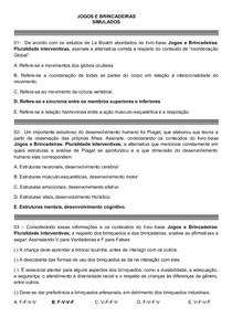 JOGOS E BRINCADEIRAS SIMULADOS
