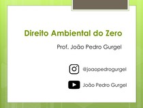 Direito Ambiental do Zero - Aula 3