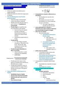 PROBLEMA 7- regulação respiratória (resumo)