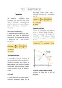 Física - Cinemática parte 1