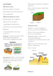 Geomorfologia [Resumo]