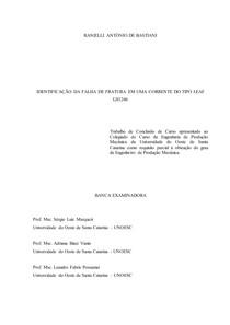 Análise de falha (TCC - Artigo científico)