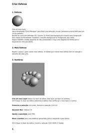 Criar Esferas 3D
