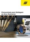 Catalogo Consumíveis Arco Submerso ESAB