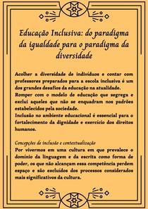 Educação Inclusiva_ do paradigma da igualdade para o paradigma da diversidade (1)