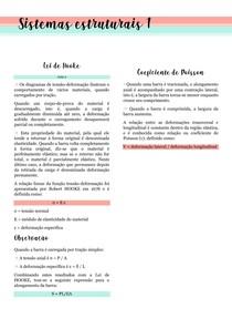 Lei de Hooke e Coeficiente de Poisson