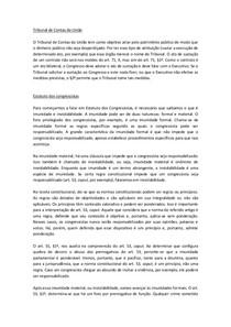 Tribunal de Contas e Estatudo dos Congr - Batista