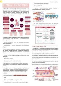 Processos Inflamatórios - Resumo