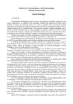 história do existencialismo e da fenomenologia