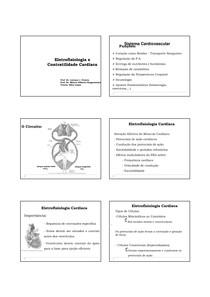 Matérias de Fisiologia Geral