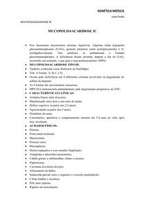 Mucopolissacaridose 3C
