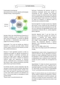 Termos, Classificação e avaliação dos alimentos, Métodos de avaliação da composição - NUTRIÇÃO ANIMAL 1
