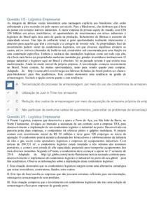 Apol 05   Logística Empresarial #Nota100