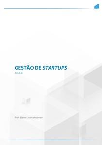 Aula 06 Gestão de Startups