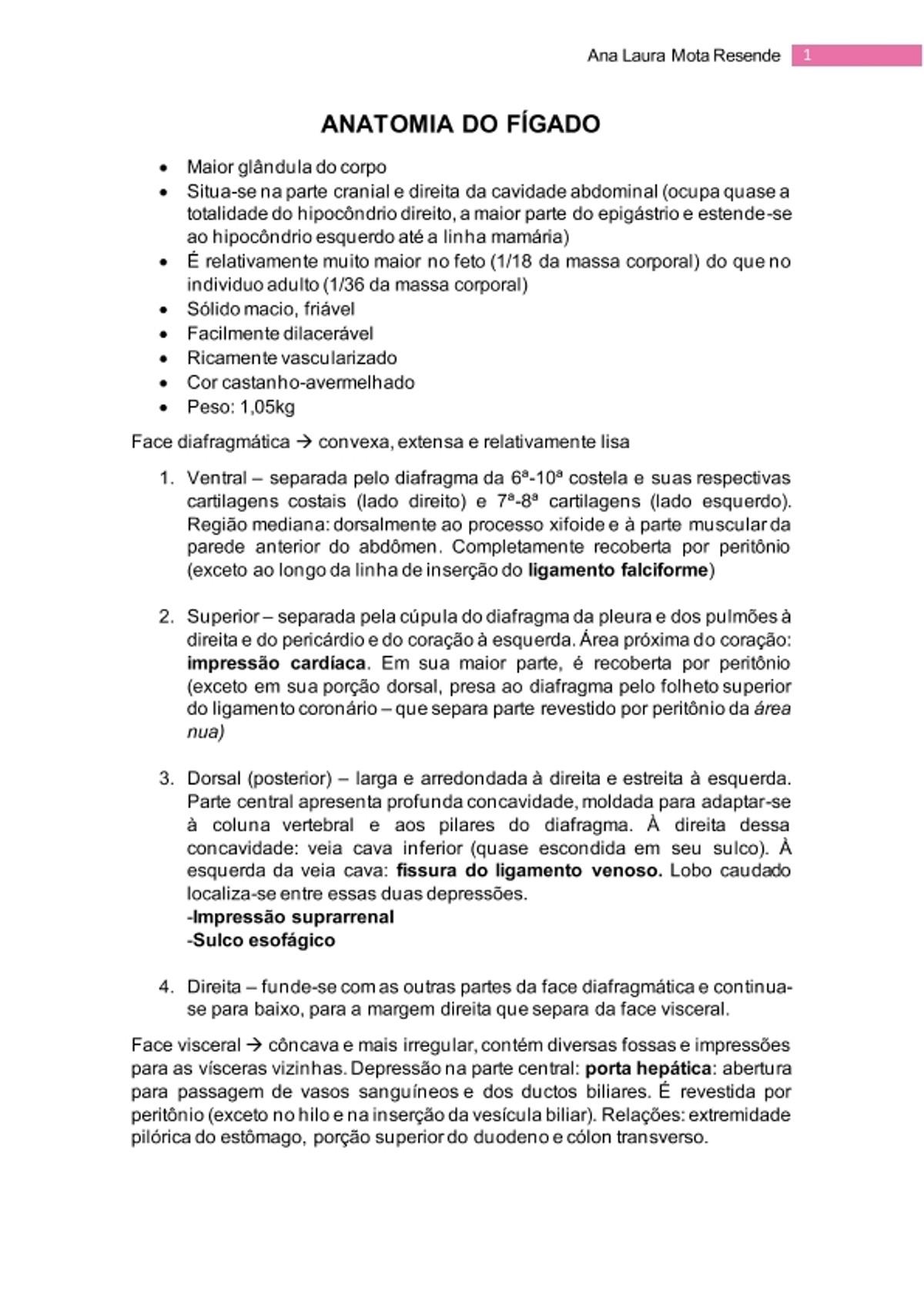 Pre-visualização do material ANATOMIA DO FÍGADO - página 1
