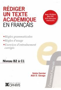 Rediger Un Texte Academique En Francais Niveau B2 A C1 Pdf