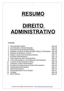 direito-administrativo resumo net