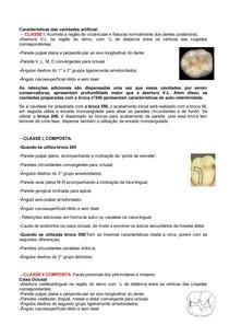 Dentística- características das cavidades