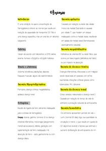 Tipos de Anemias