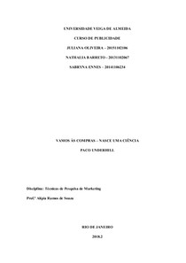 Teìcnicas de pesquisa   TB1 Final