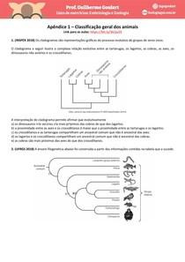 Módulo 6 - apêndice 1 - Classificação geral dos animais