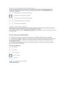 APOL2 GESTÃO DE MARCAS E BRANDING E PROJETO E DESENVOLVIMENTO DE PRODUTOS
