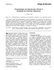 Avaliação do Paciente Hipertenso