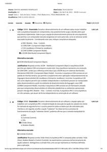 ANALISE E PROJETOS DE SISTEMAS DA INFORMAÇÃO II