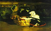 Edouard Manet - Guitar-and-Hat