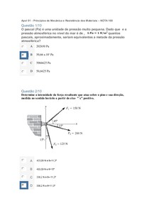Apol 01   Principios de Mecânica e Resistência dos Materiais   NOTA 100 (1)