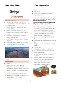 Rochas Ígneas, Sedimentares e Metamórficas
