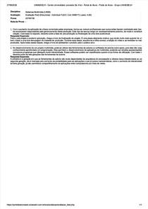 Avaliação Final - Sistemas Multimídia - Uniasselvi