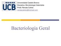 Aula 1 Bacteriologia Geral e Cocos Gram Pos