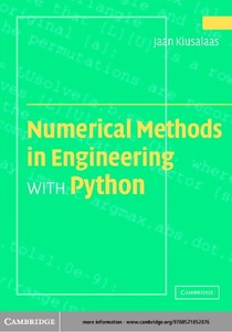 Numerical Methods in Engineering with Python (2005