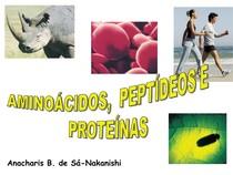 Quimica aminoacidos e proteinas
