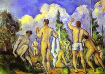 Paul Paul Cézanne - Large Bathers