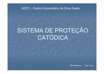 Sistema de Proteção Catódica_Aula
