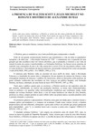 A PRESENÇA DE WALTER SCOTT E JULES MICHELET NO  ROMANCE HISTÓRICO DE ALEXANDRE DUMAS