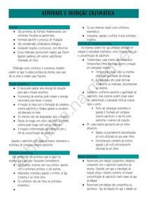Atividade e inibição enzimática