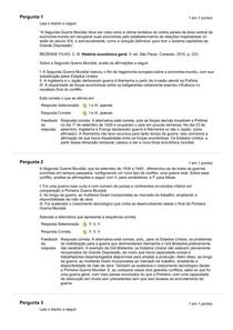 Histórica Economica Geral - Atividade 04