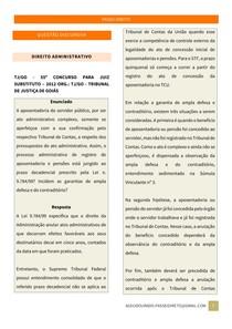 Questão Discursiva - Direito Administrativo 1