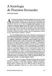 A Sociologia de Florestan Fernandes, Ianni