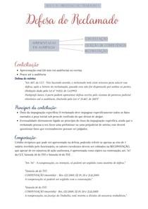 Direito Processual do Trabalho - Aula 9 - Defesa do Reclamado