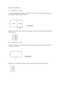 Simulado de matemática e fisica