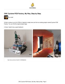 Cyclone PCB Factory My Way Step by Step - Eletrônica I - 3